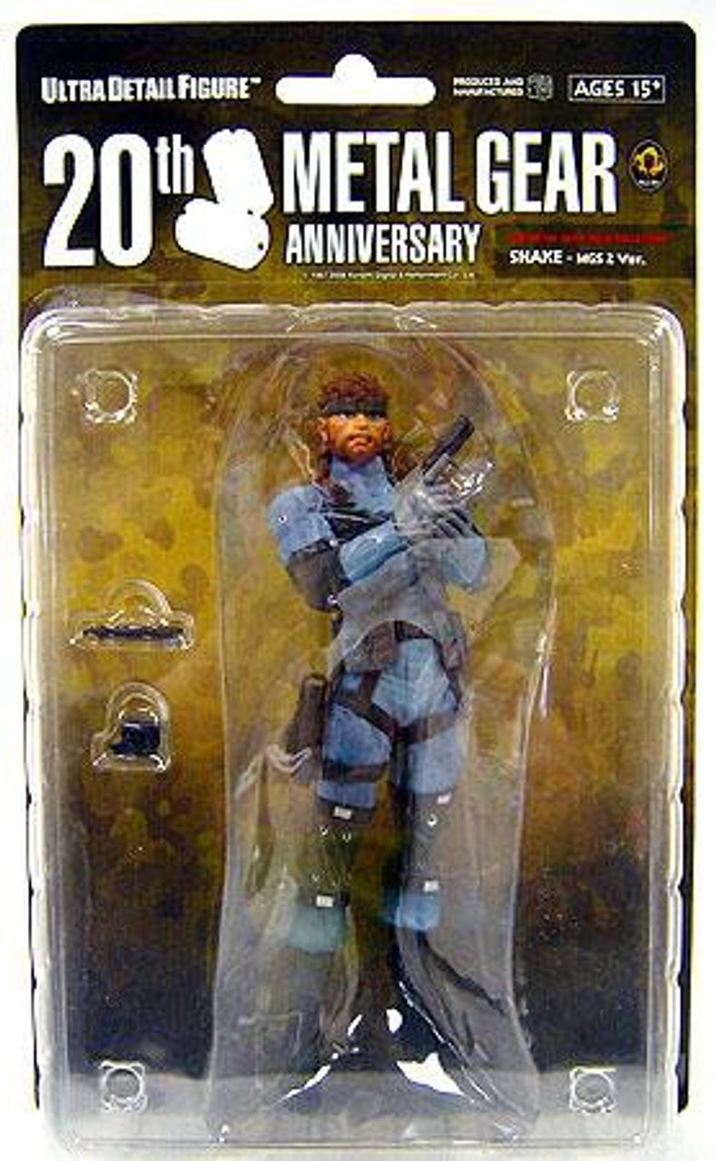 Metal Gear Solid Series 1 Snake 7-Inch Collectible Figure [MGS2]