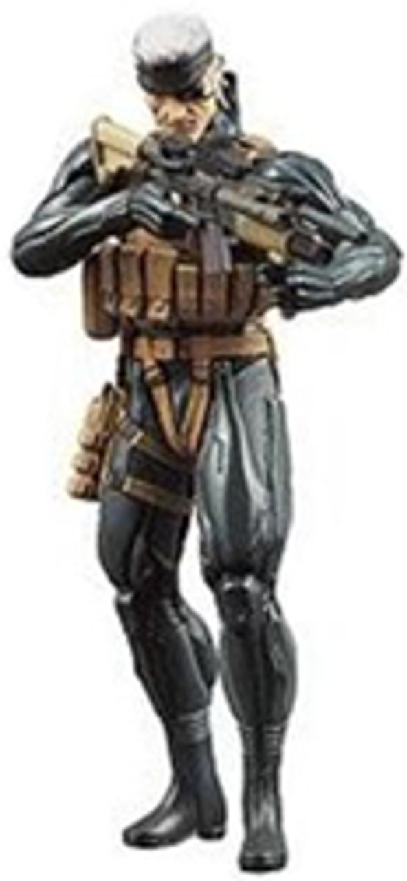Metal Gear Solid 4 Series 1 Snake Action Figure