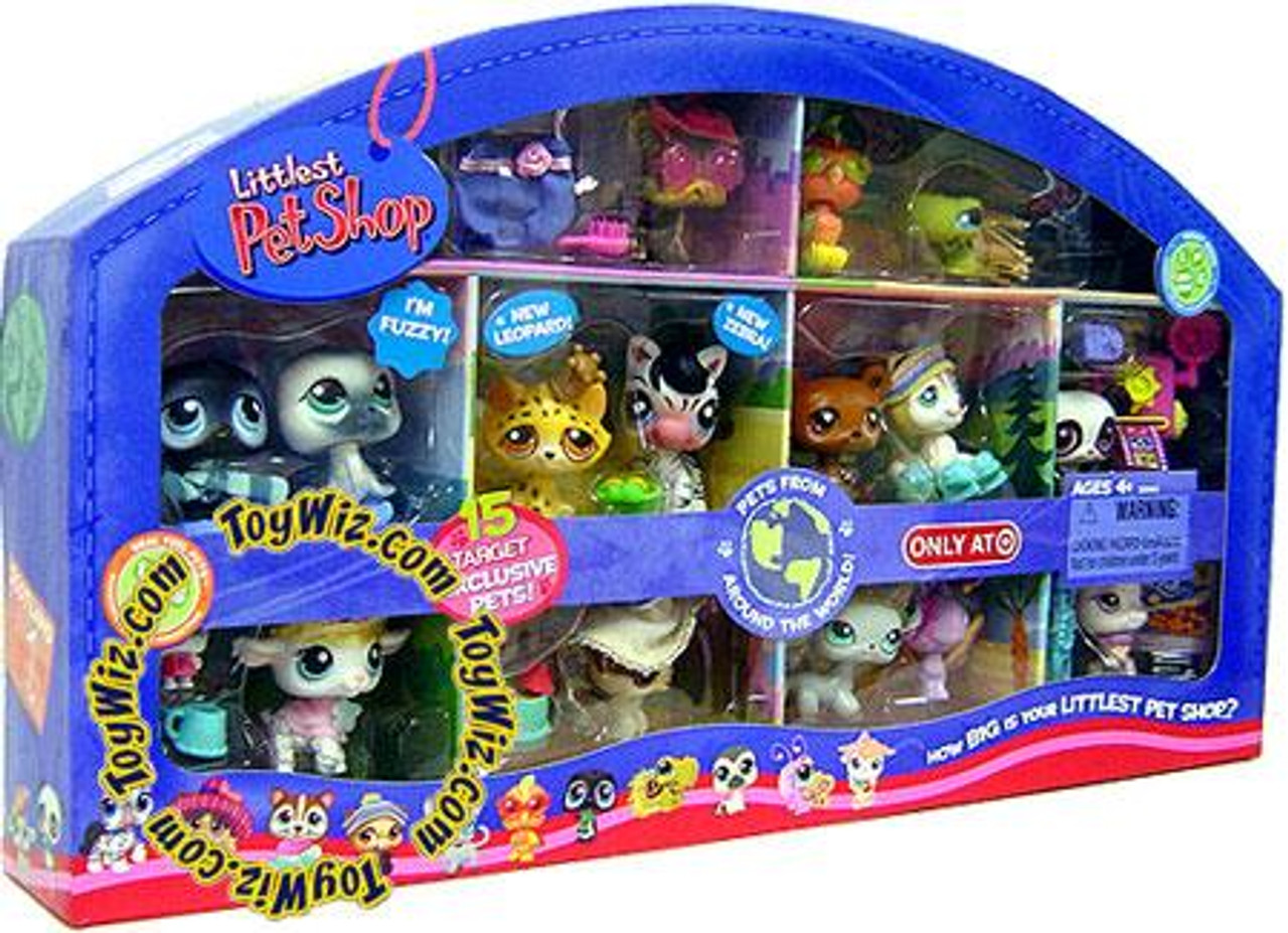 Littlest Pet Shop Pets From Around the World Exclusive Figure Set [2008]