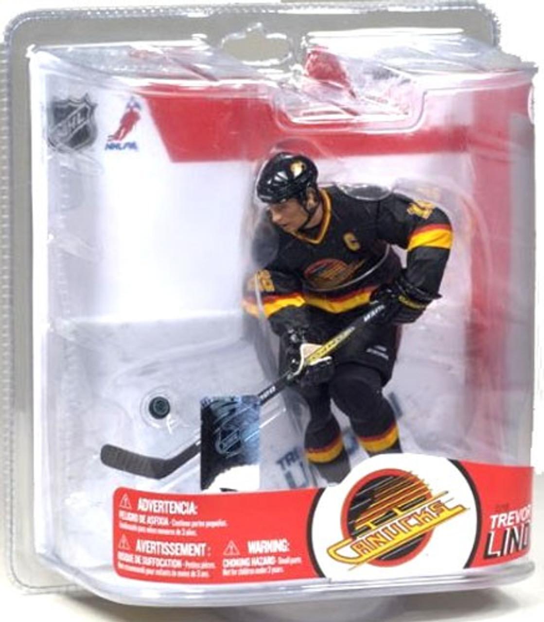 McFarlane Toys NHL Vancouver Canucks Sports Picks Series 17 Trevor Linden Action Figure