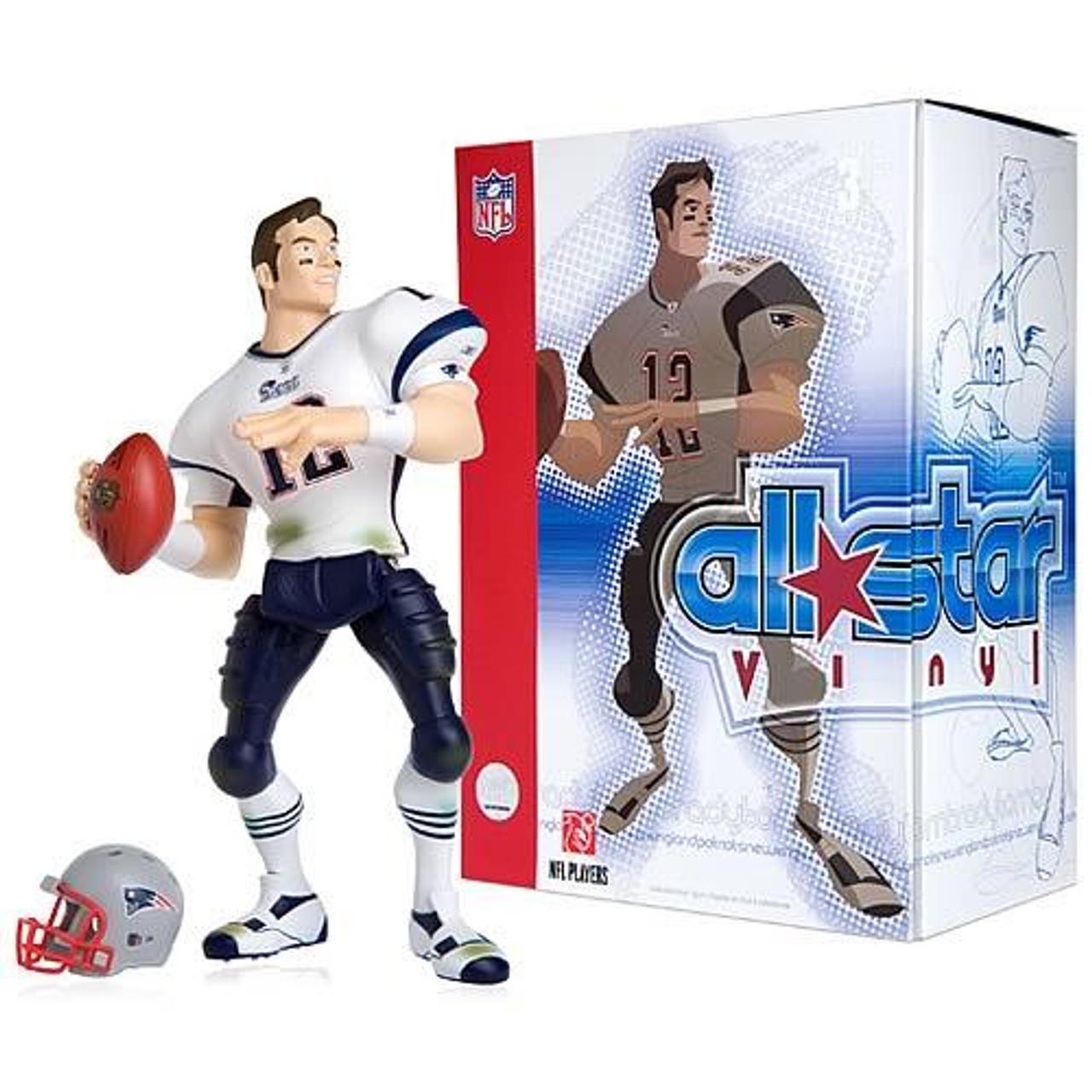NFL New England Patriots All Star Vinyl Tom Brady Vinyl Figure [White Away Jersey]