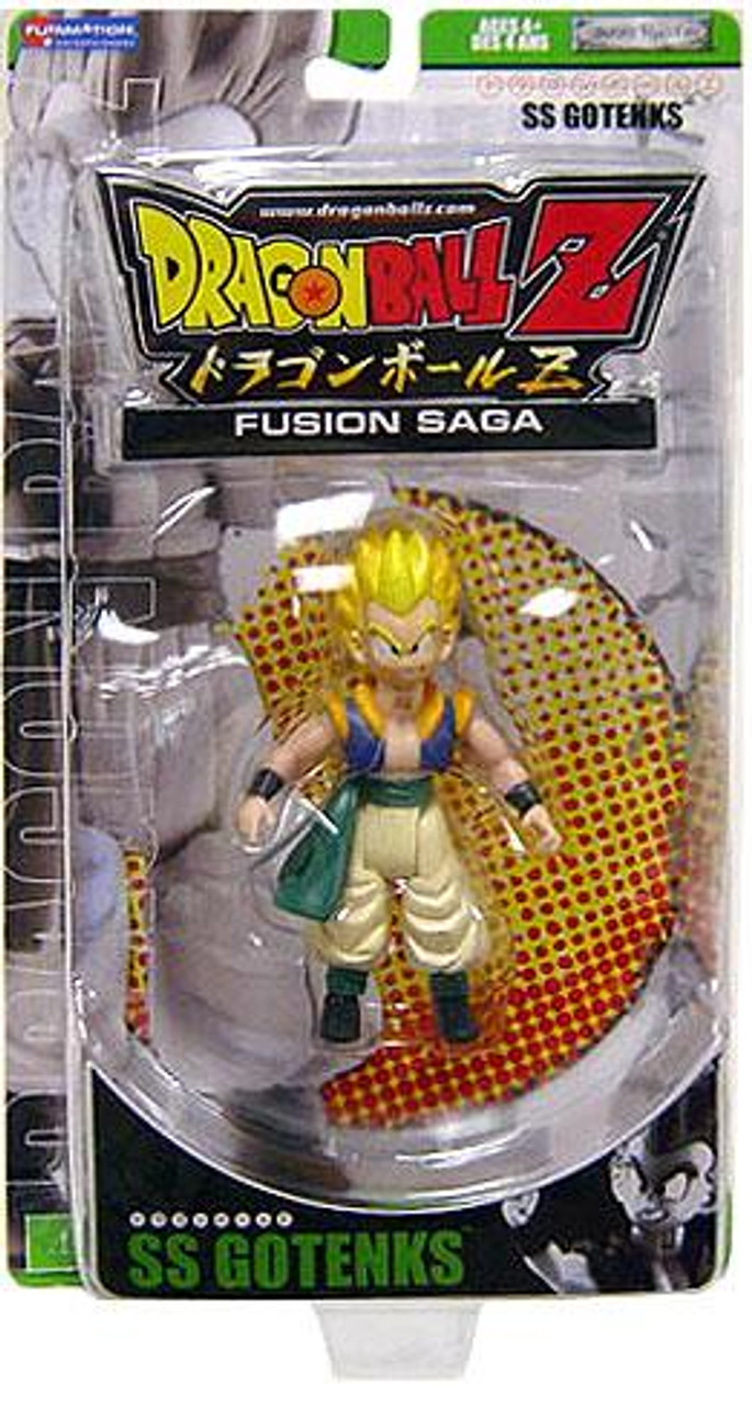 Dragon Ball Z Fusion Saga 2 SS Gotenks Action Figure