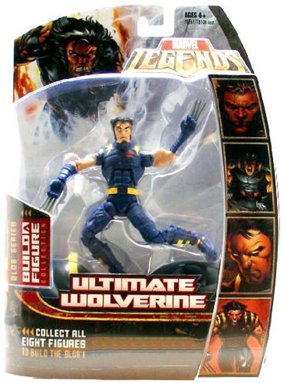 Marvel Legends Series 17 Blob Ultimate Wolverine Exclusive Action Figure [Exclusive]