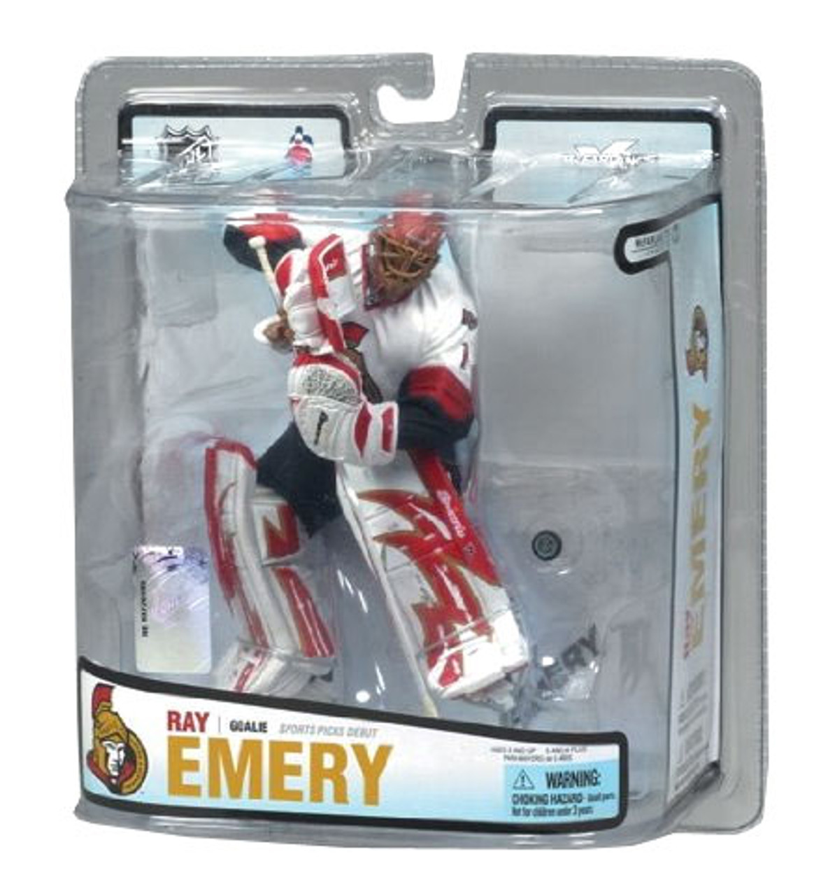 McFarlane Toys NHL Ottawa Senators Sports Picks Series 18 Ray Emery Action Figure