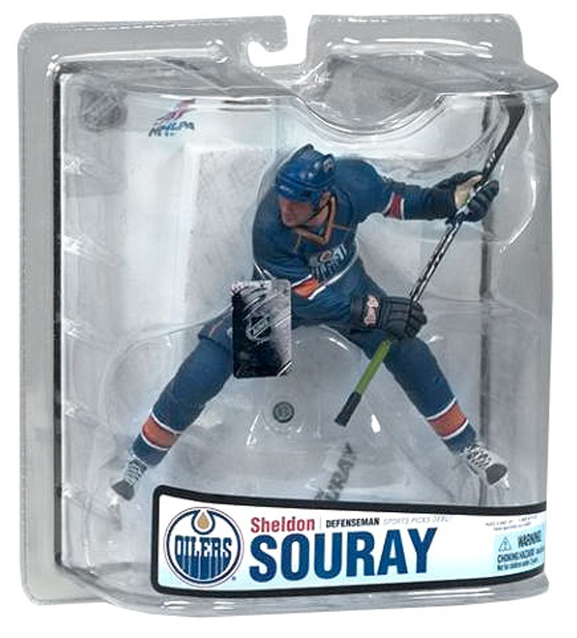 McFarlane Toys NHL Edmonton Oilers Sports Picks Series 18 Sheldon Souray Action Figure