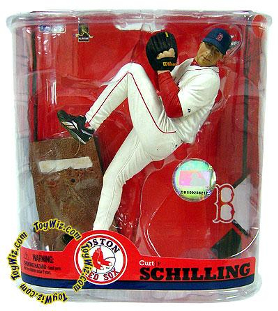 McFarlane Toys MLB Boston Red Sox Sports Picks Series 22 Curt Schilling Action Figure