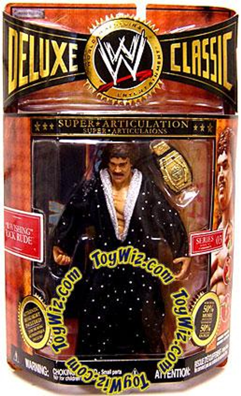 WWE Wrestling Deluxe Classic Superstars Series 3 Ravishing Rick Rude Exclusive Action Figure