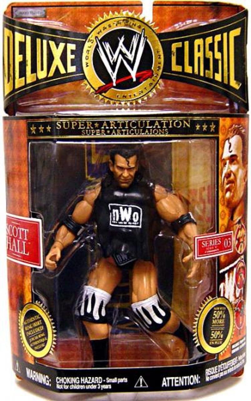 WWE Wrestling Deluxe Classic Superstars Series 3 Scott Hall Exclusive Action Figure [NWO]