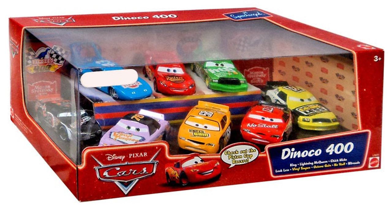 Disney Cars Multi-Packs Dinoco 400 Gift Pack Exclusive Diecast Car Set