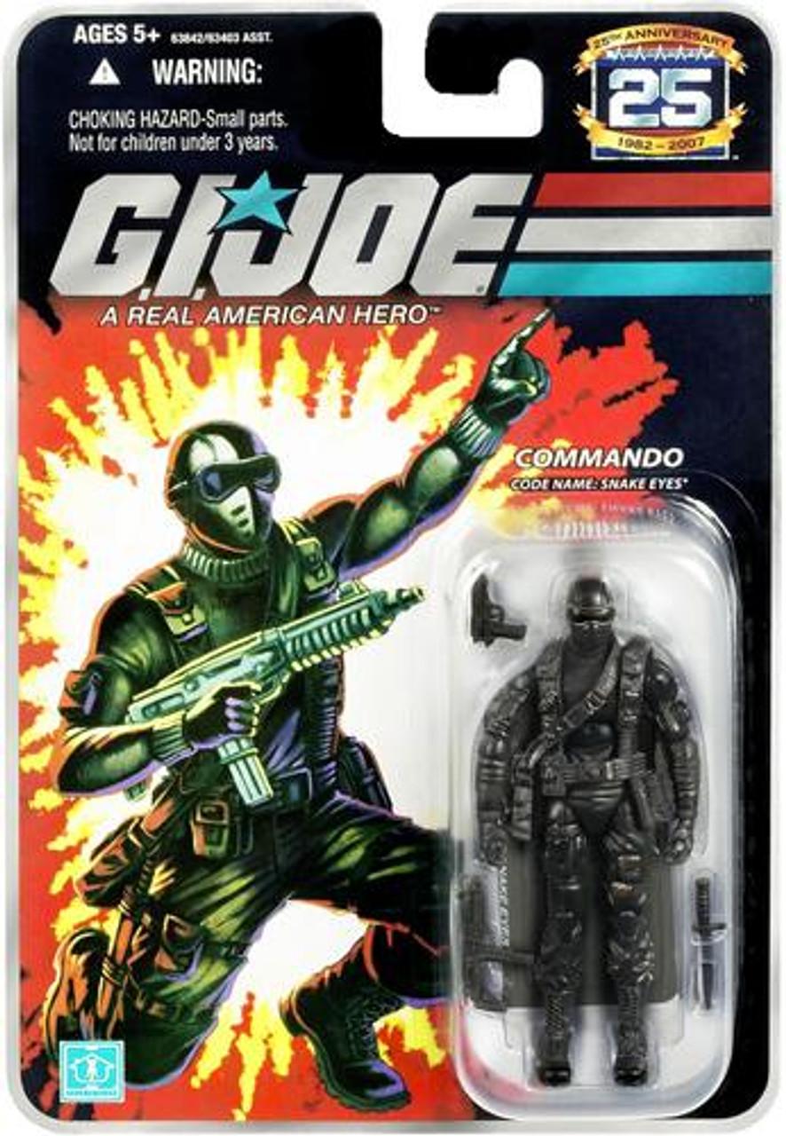 GI Joe 25th Anniversary Wave 5 Snake Eyes Action Figure