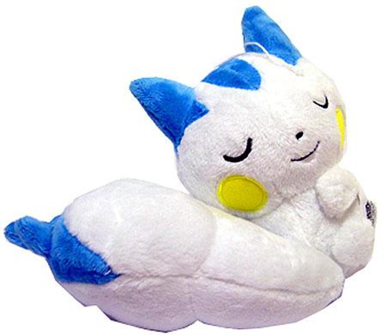 Pokemon Diamond & Pearl 5 Inch Pachirisu Plush [Sleeping, Eyes Closed]