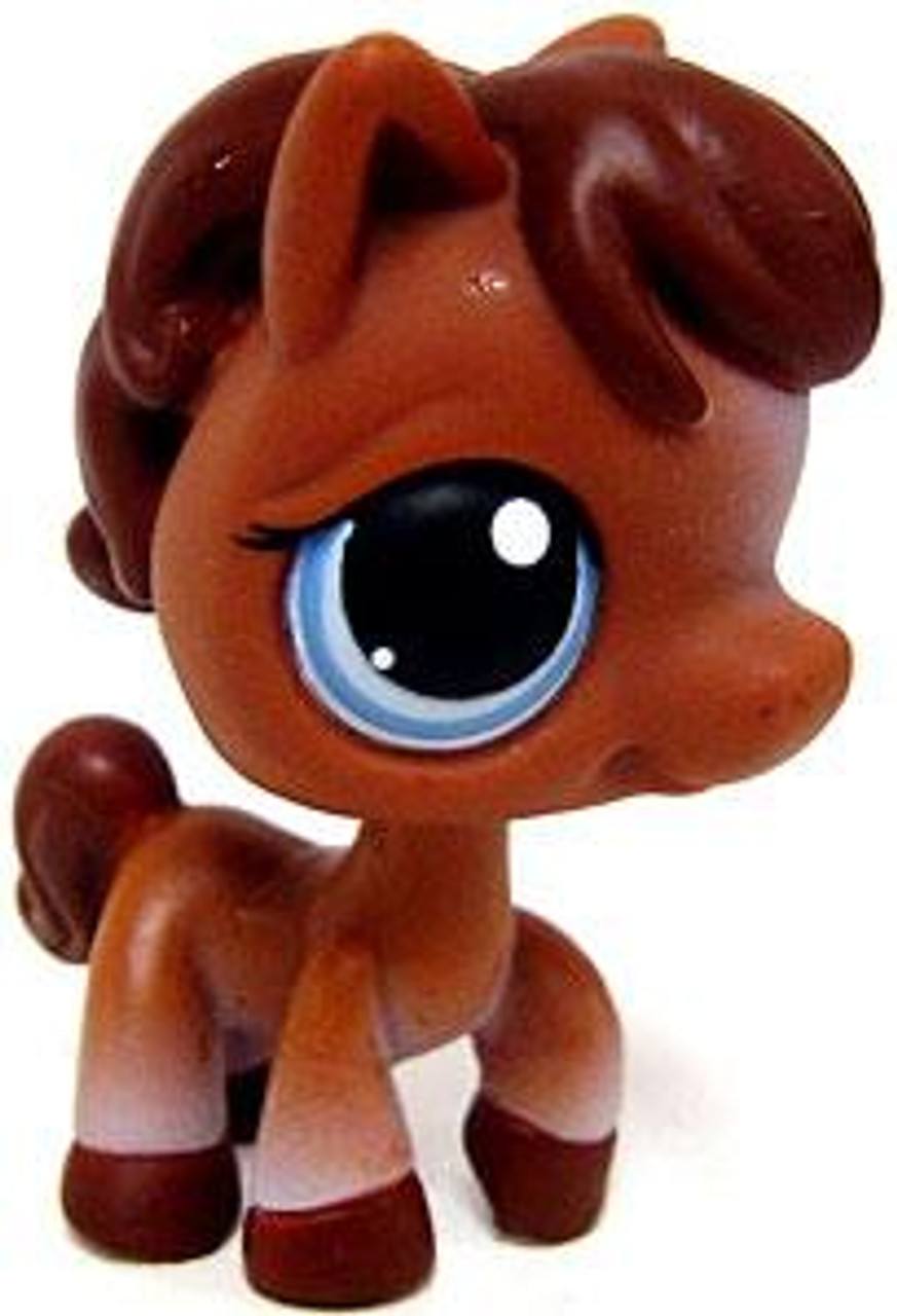 Littlest Pet Shop Horse Figure #337 [Brown Loose]