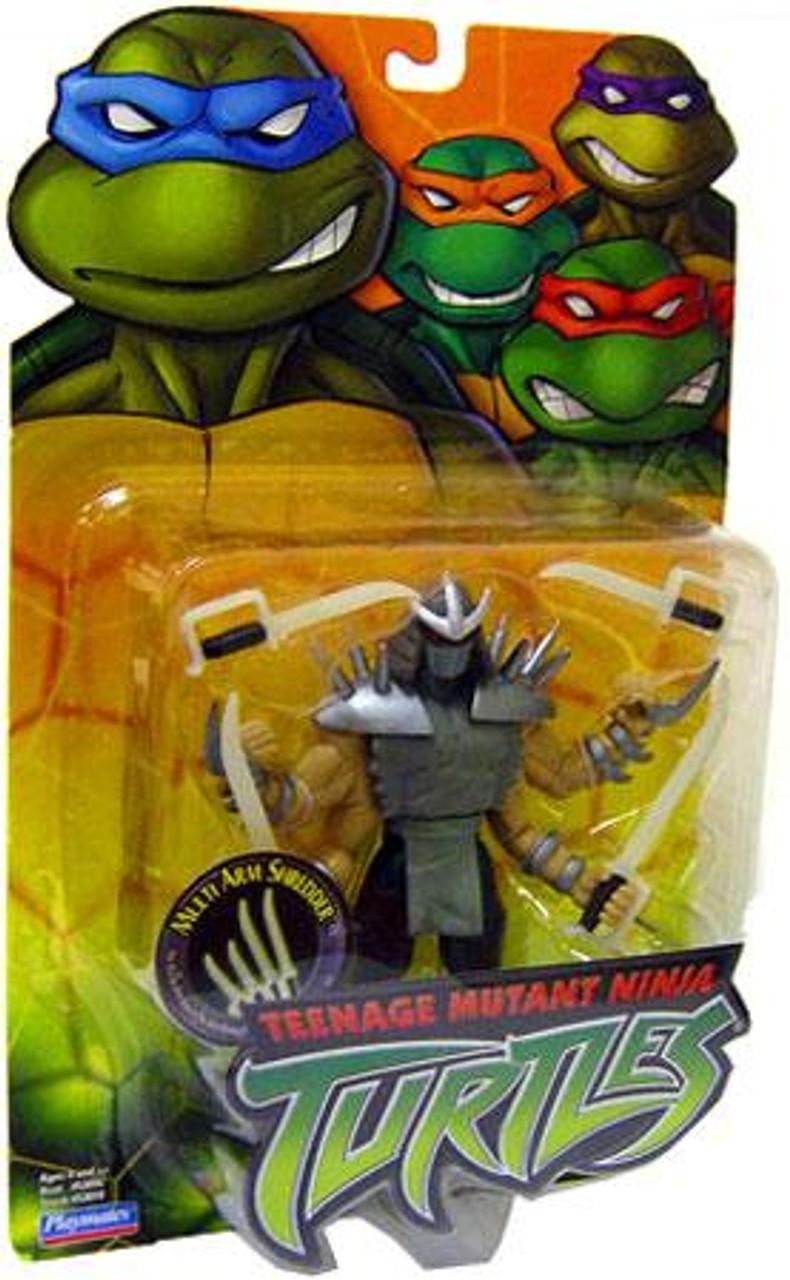 Teenage Mutant Ninja Turtles 2003 Multi Arm Shredder Action Figure