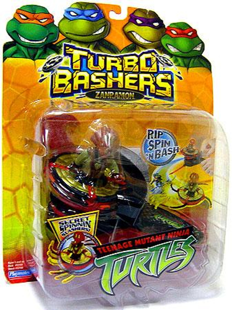 Teenage Mutant Ninja Turtles 2003 Turbo Bashers Zanramon Toy