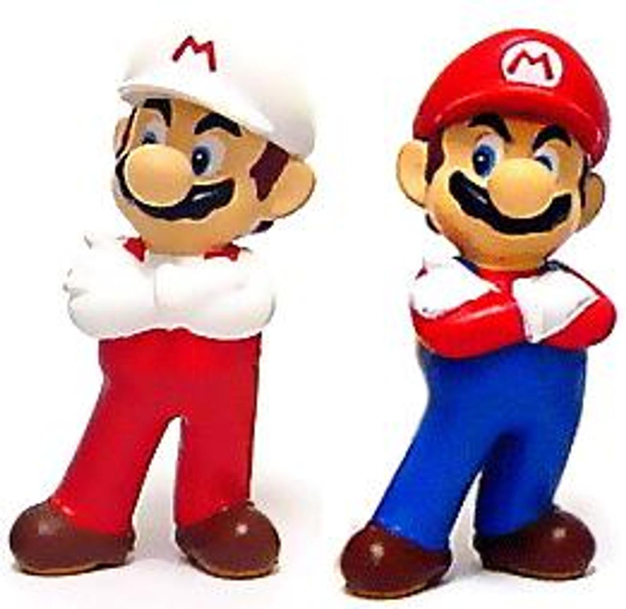 New Super Mario Bros Wii Mario PVC Figure Set