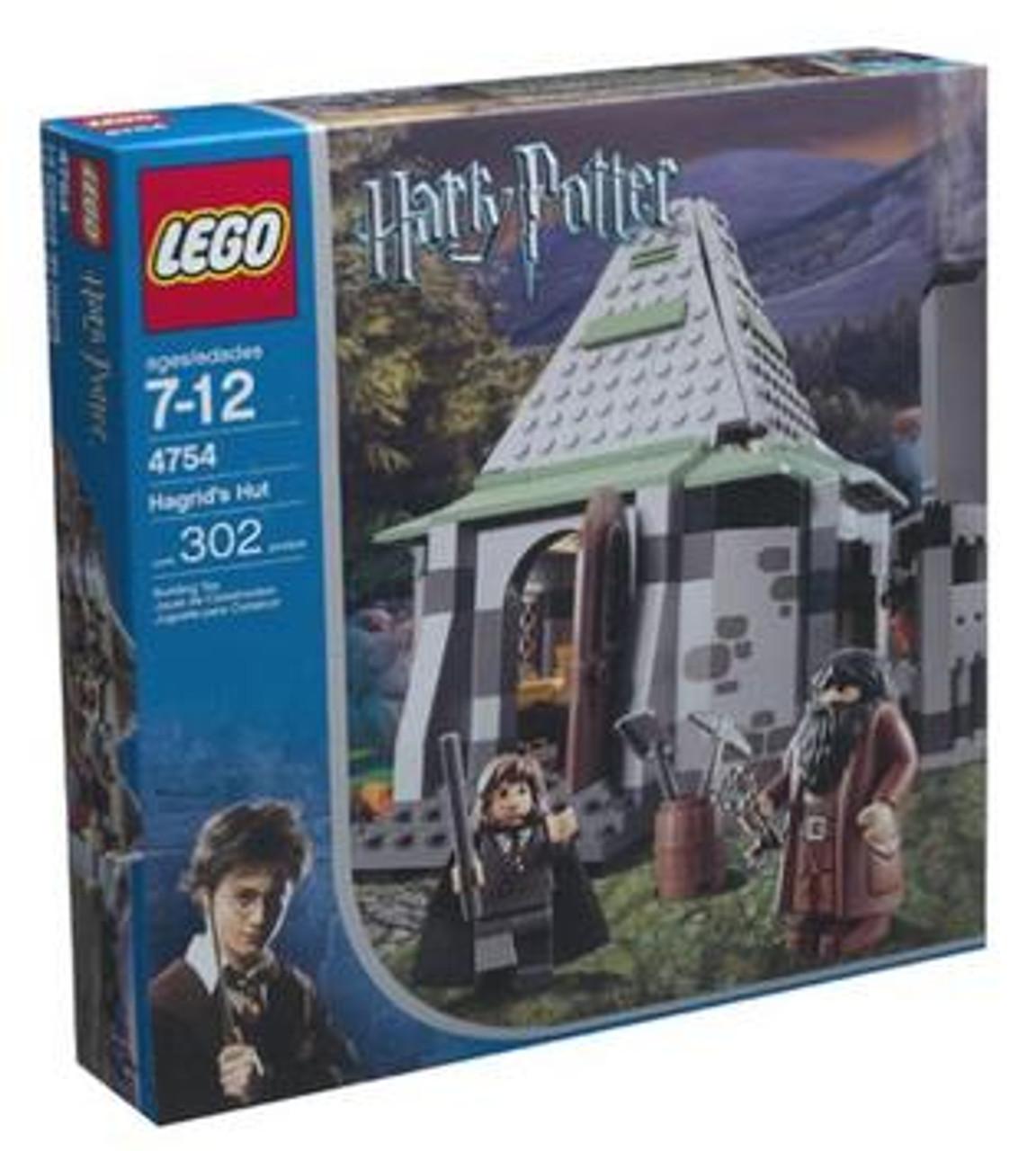 LEGO Harry Potter Prisoner of Azkaban Hagrid's Hut Set #4754