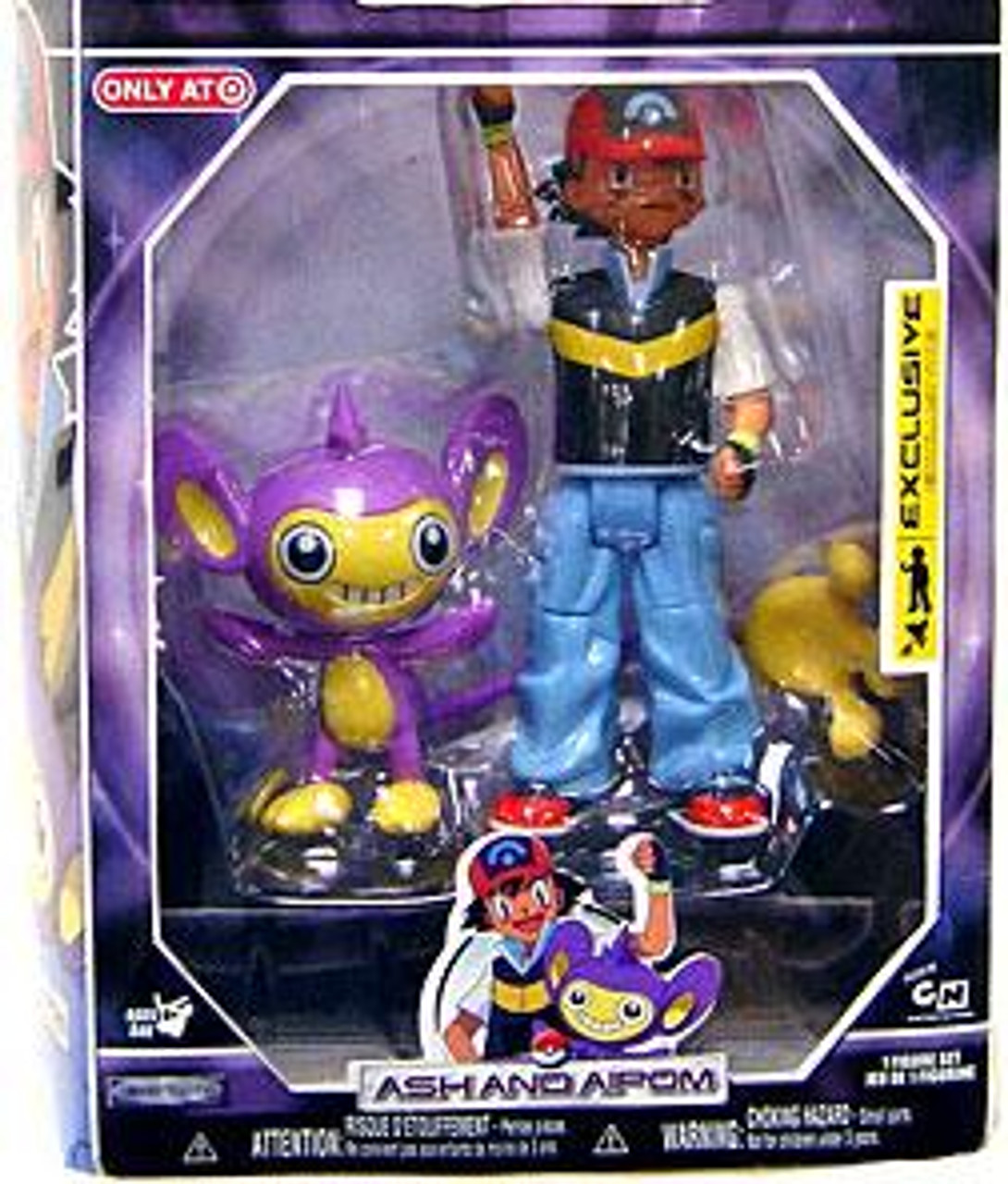 Pokemon Diamond & Pearl Trainer Sets Ash & Aipom Exclusive Action Figure Set