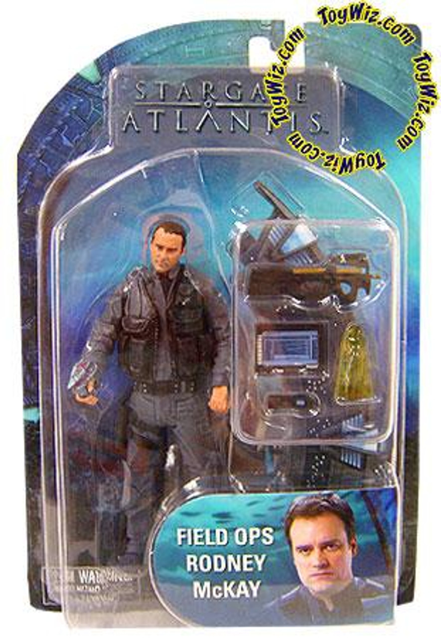 Stargate Atlantis Series 2 Dr. Rodney McKay Action Figure [Field Ops]