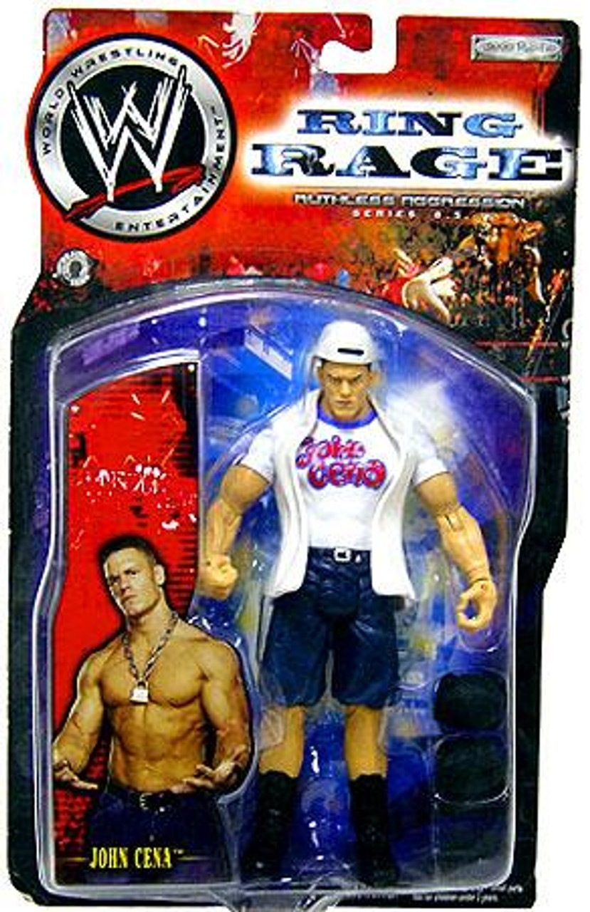 WWE Wrestling Ruthless Aggression Series 8.5 Ring Rage John Cena Action Figure