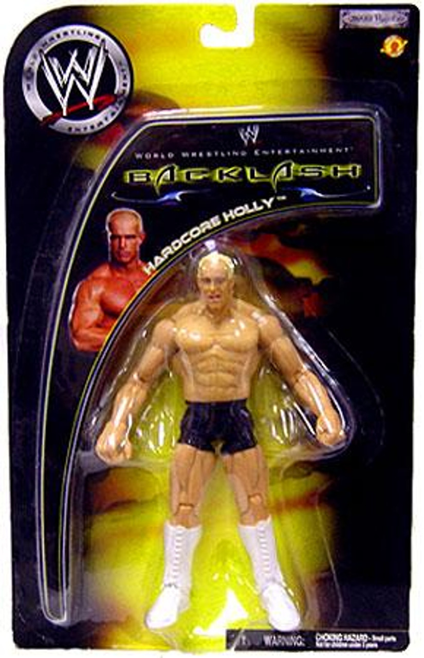 WWE Wrestling Backlash 2002 Hardcore Holly Action Figure