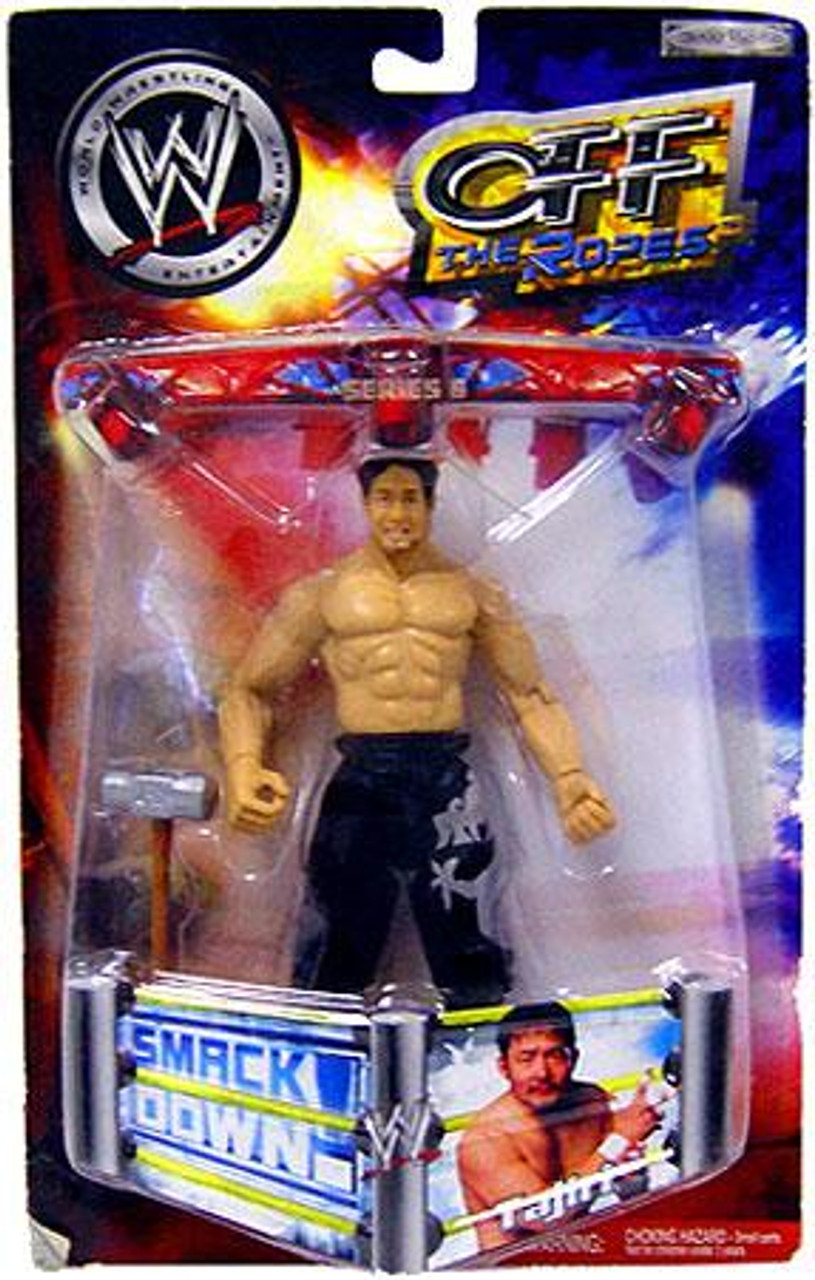 WWE Wrestling Off The Ropes Series 6 Tajiri Action Figure