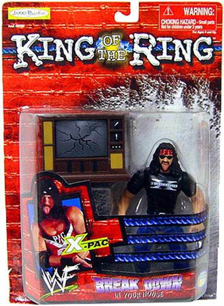 WWE Wrestling WWF King of the Ring Breakdown in Your House X-Pac Action Figure