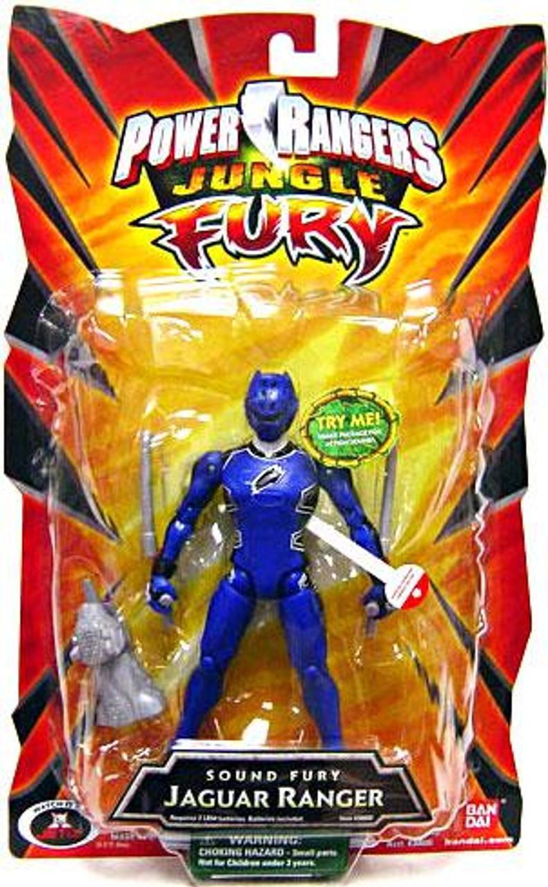 Power Rangers Jungle Fury Sound Fury Jaguar Ranger Action Figure
