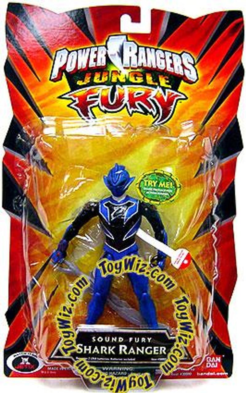Power Rangers Jungle Fury Sound Fury Shark Ranger Action Figure