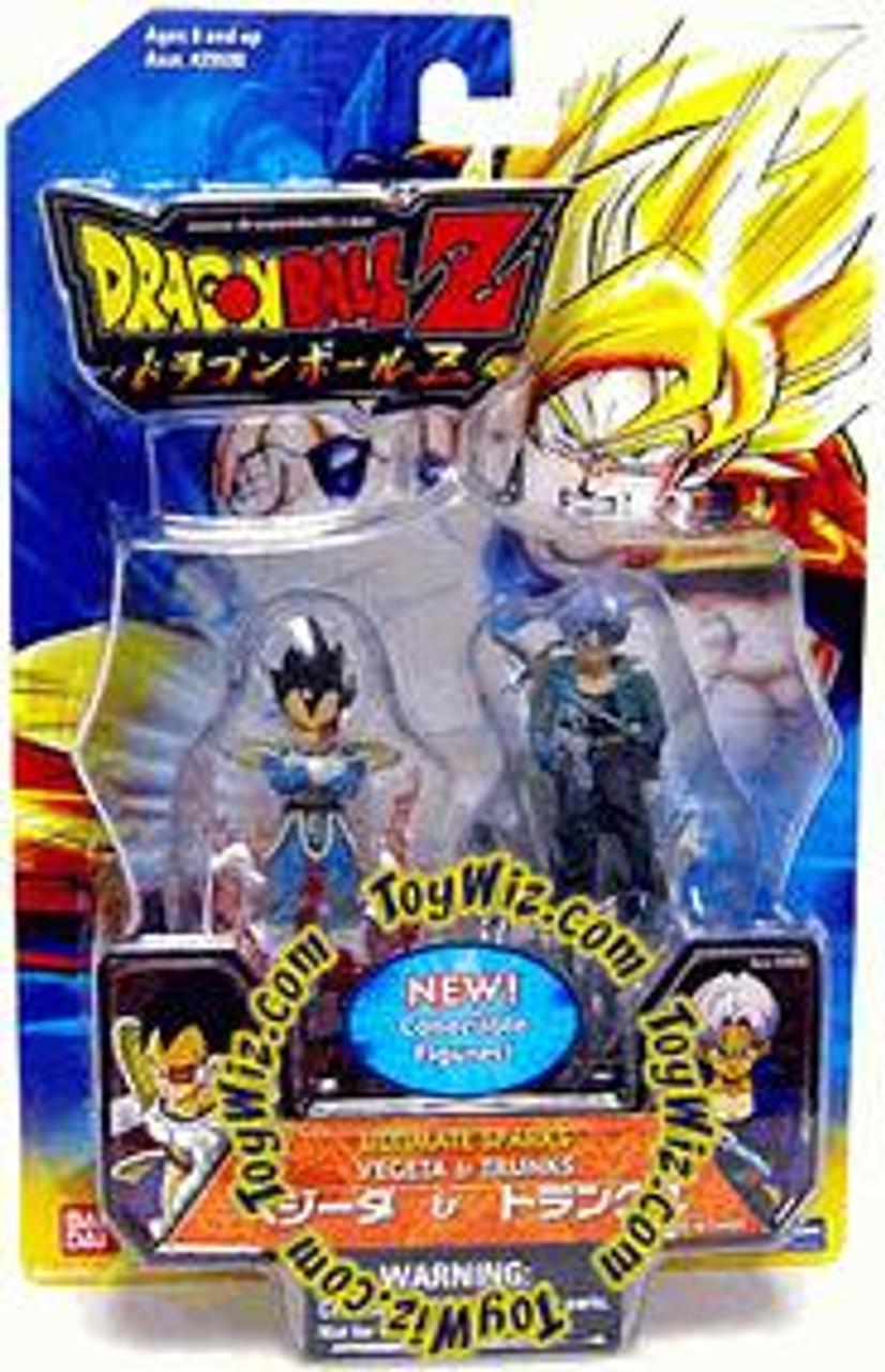 Dragon Ball Z Ultimate Sparks Vegeta & Trunks 2.5-Inch PVC Figure 2-Pack