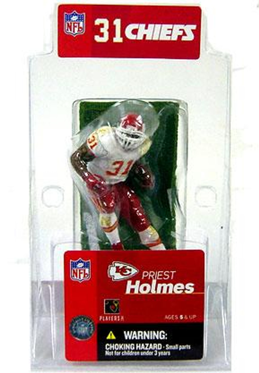 McFarlane Toys NFL Kansas City Chiefs Sports Picks 3 Inch Mini Priest Holmes Mini Figure