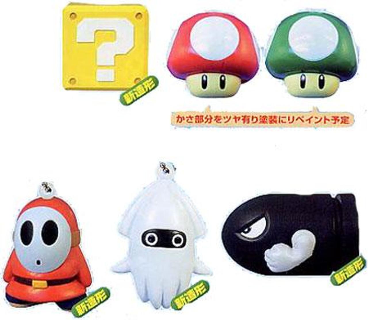 Super Mario Bros 6 Piece Capsule Toy Set