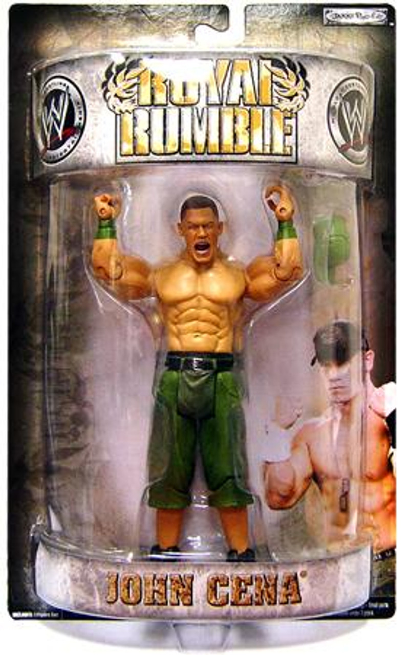 WWE Wrestling Pay Per View Royal Rumble 2007 John Cena Action Figure