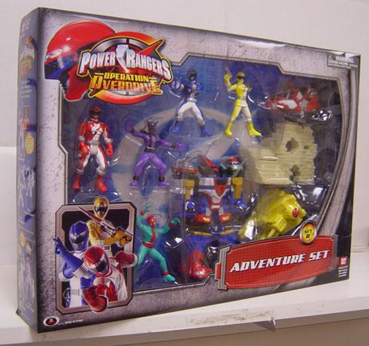 Operation Overdrive Power Rangers Adventure Set PVC Figures [Set B]