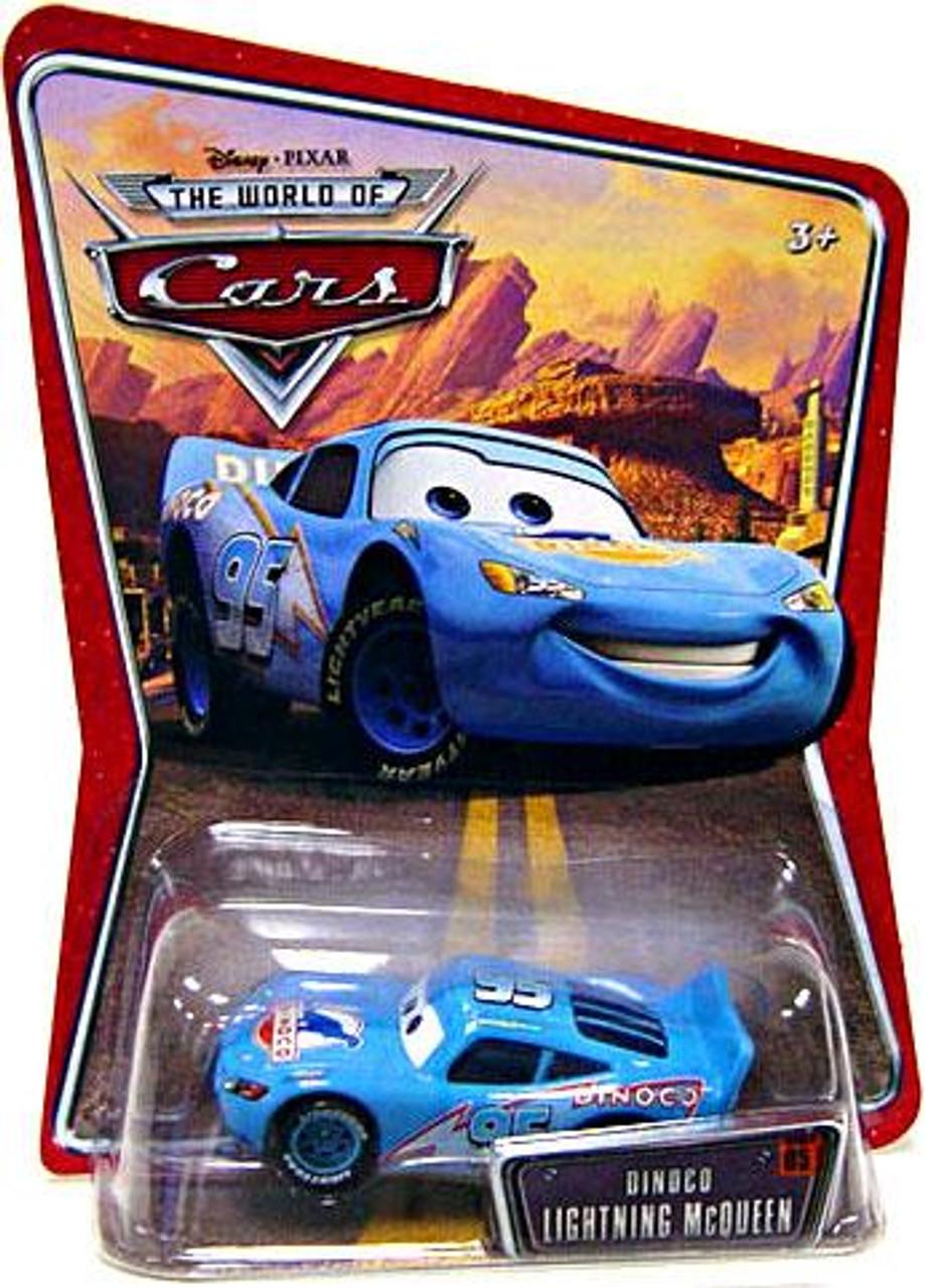 Disney Cars The World of Cars Dinoco Lightning McQueen Diecast Car