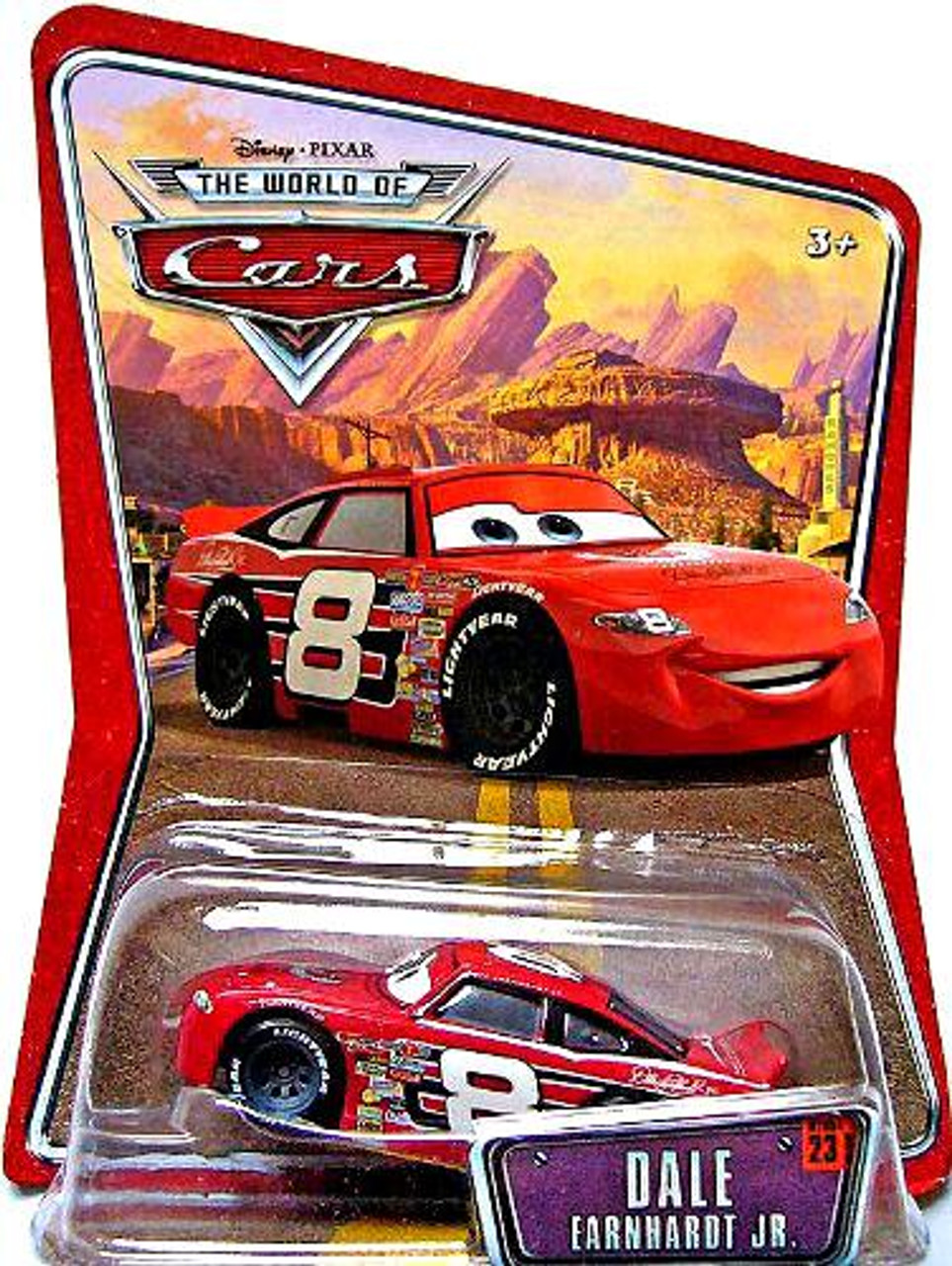 Disney Cars The World of Cars Dale Earnhardt Jr. Diecast Car