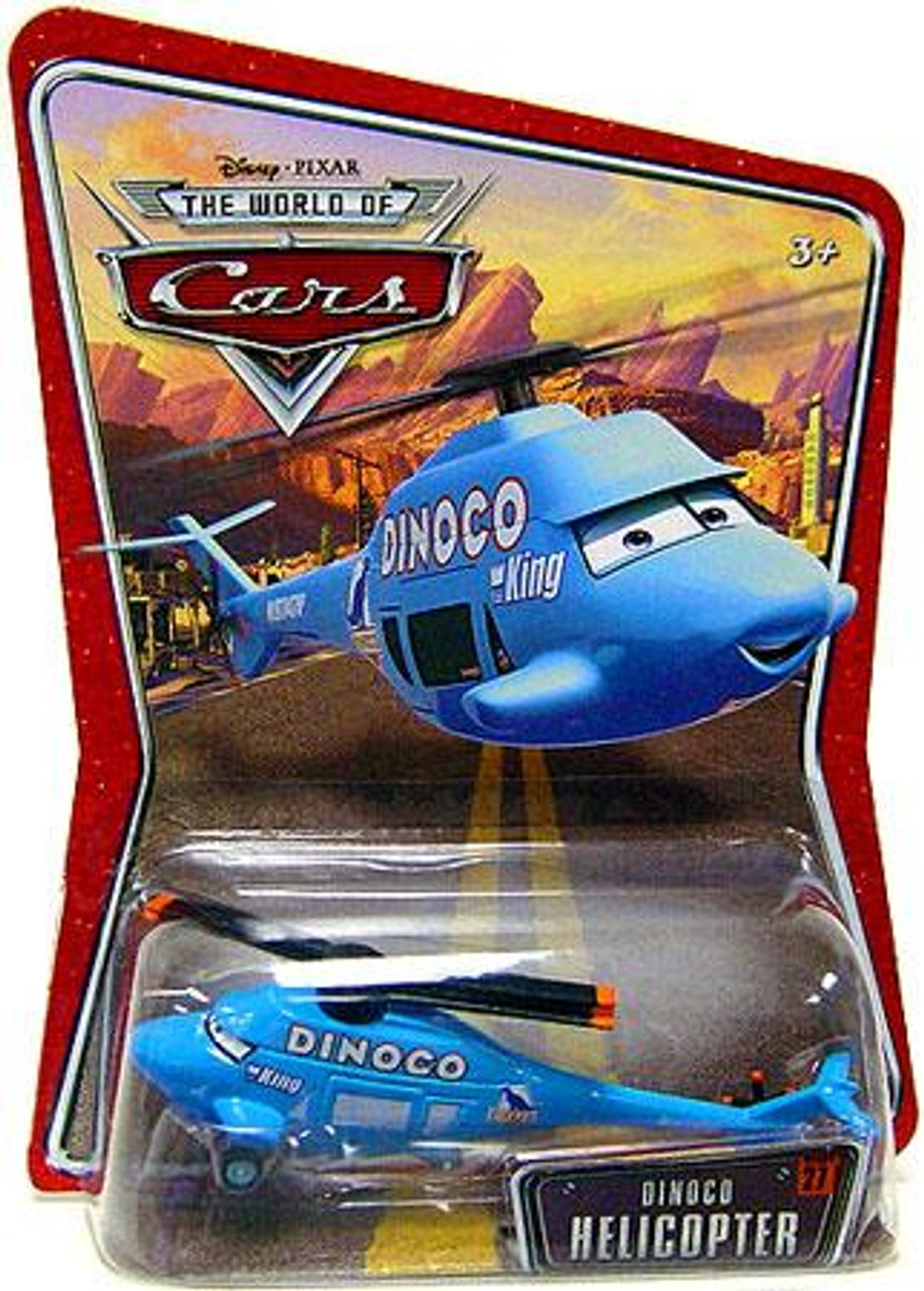 Disney Cars The World of Cars Dinoco Helicopter Diecast Car