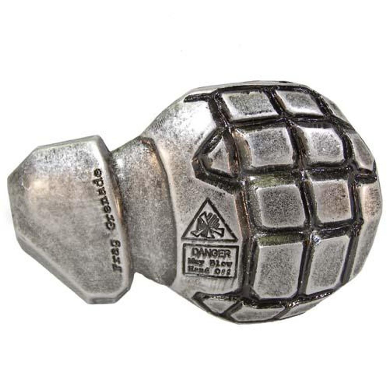 Halo 3 Frag Grenade Belt Buckle