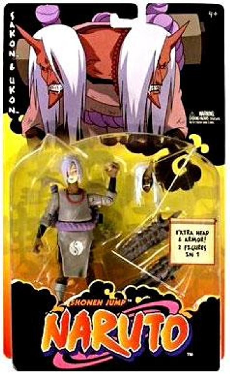 Naruto Training Level 2 Curse Seal Mark Sakon & Ukon Action Figure