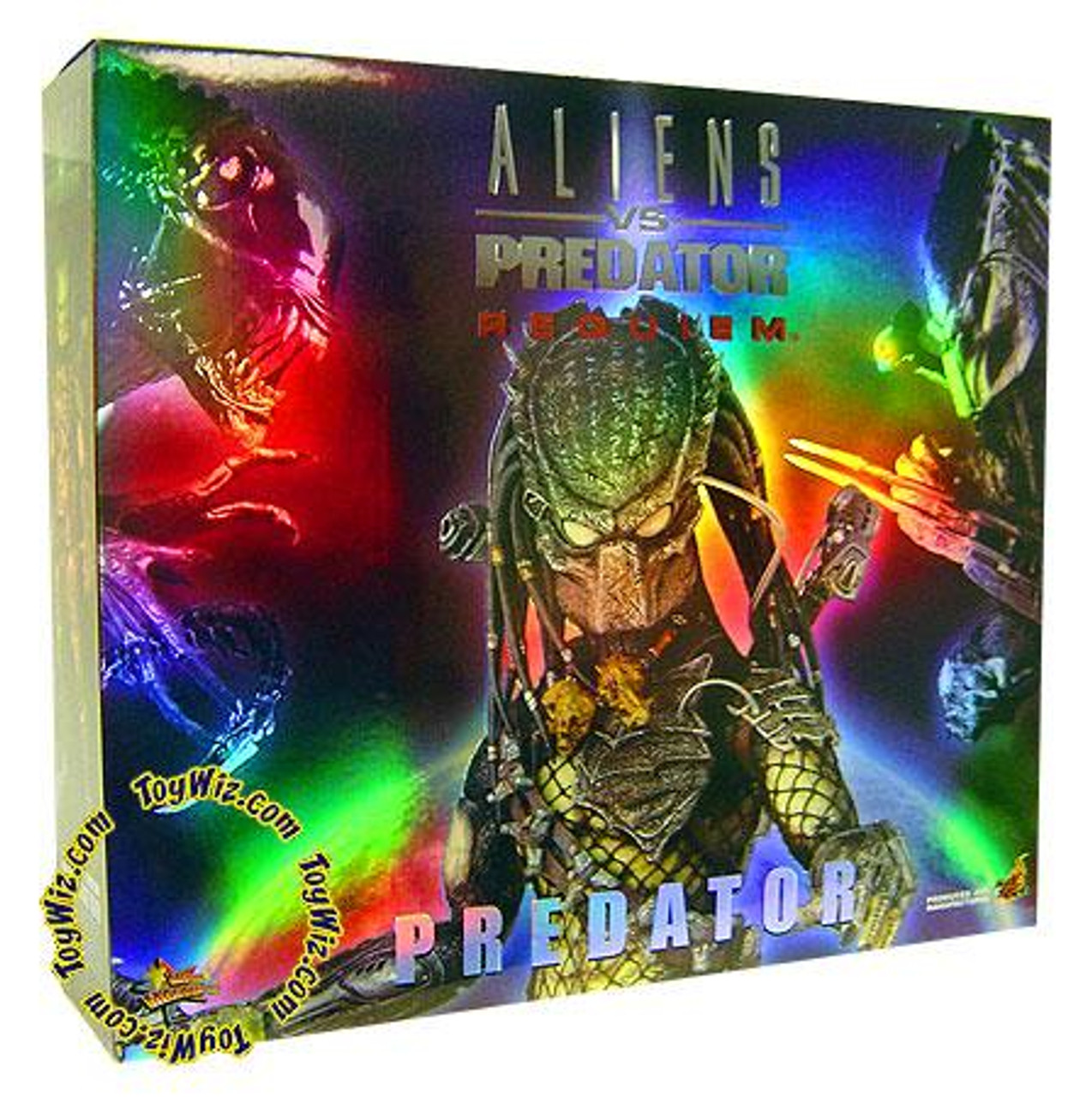 Aliens vs Predator Requiem Movie Masterpiece Predator 1/6 Collectible Figure [Wolf]