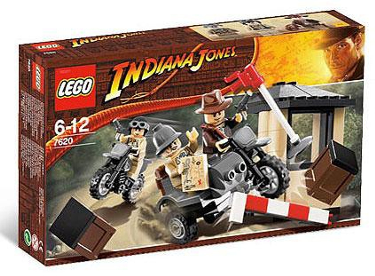 LEGO Indiana Jones Motorcycle Chase Set #7620