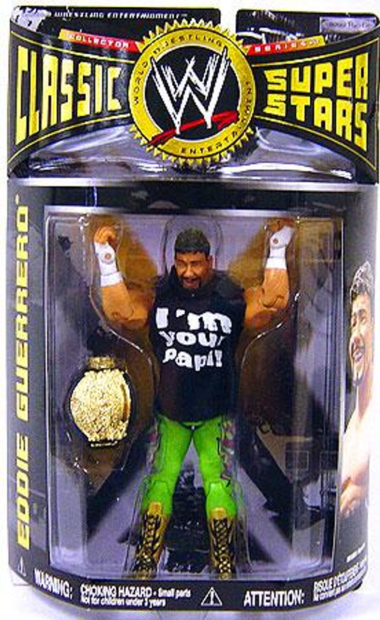 WWE Wrestling Classic Superstars Series 17 Eddie Guerrero Action Figure