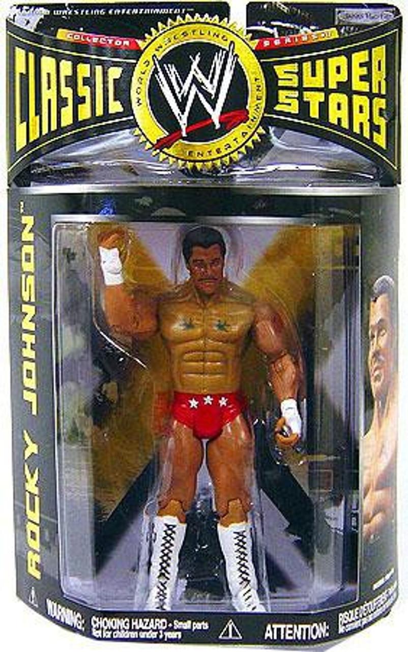 WWE Wrestling Classic Superstars Series 17 Rocky Johnson Action Figure