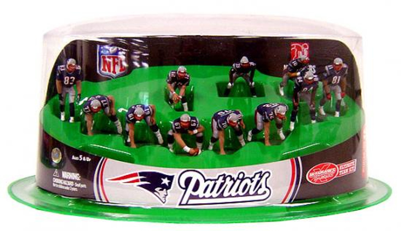 McFarlane Toys NFL Sports Picks Ultimate Team Sets New England Patriots Offense 2-Inch Team Set