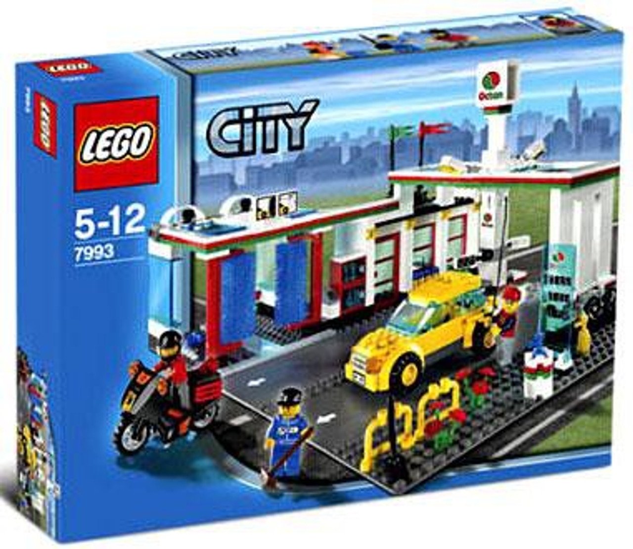 LEGO City Service Station Exclusive Set #7993