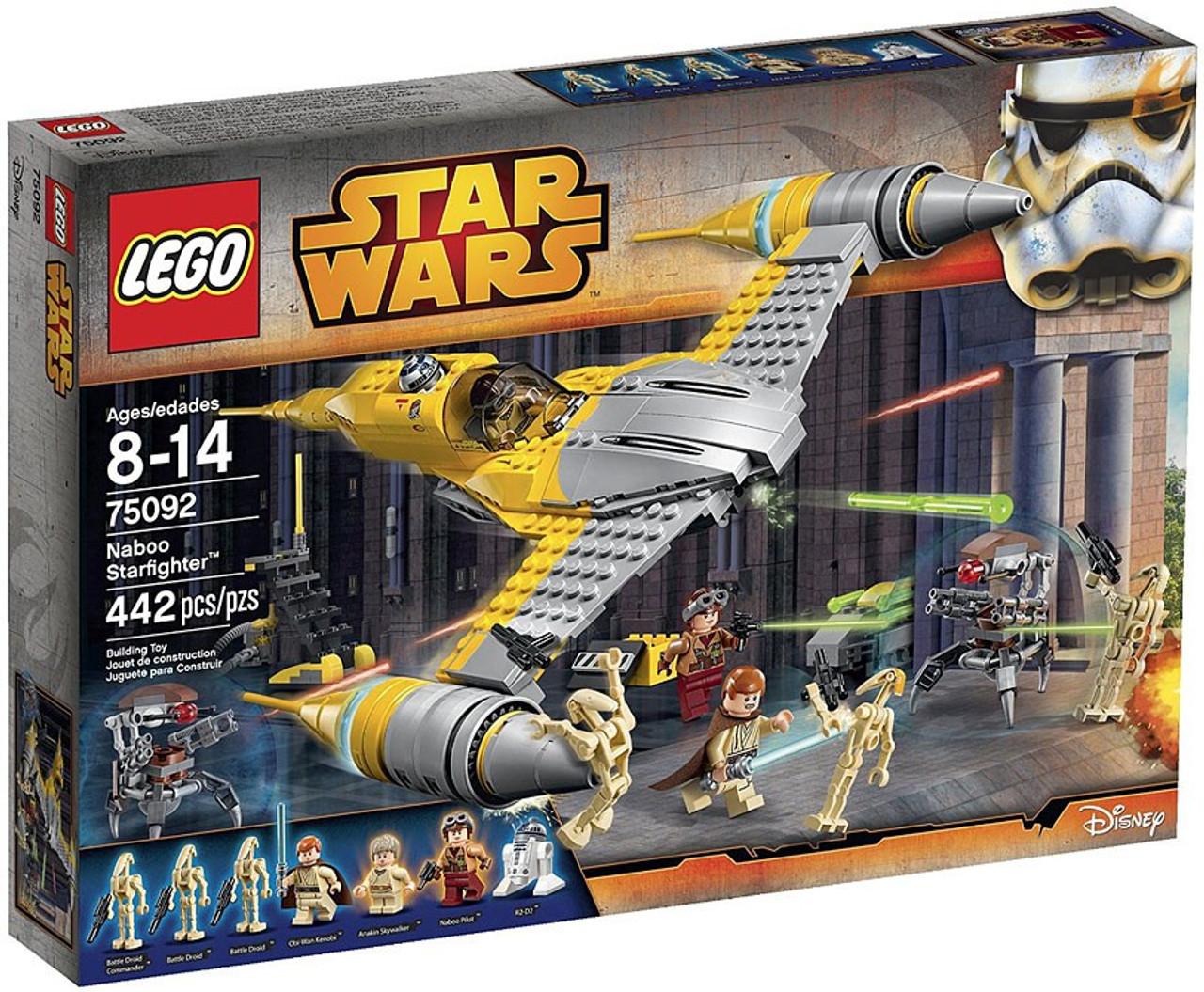 LEGO Star Wars The Phantom Menace Naboo Starfighter Set #75092