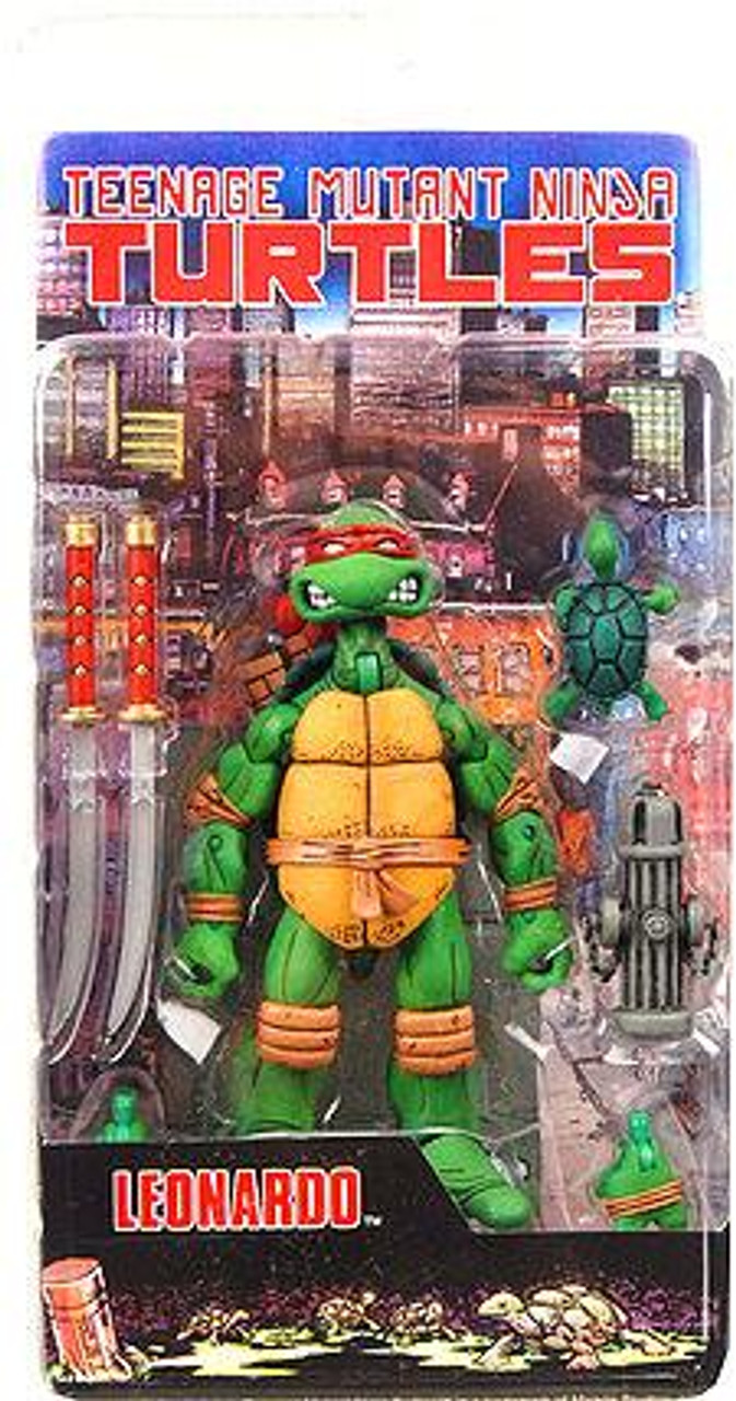 NECA Teenage Mutant Ninja Turtles Mirage Comic Leonardo Action Figure