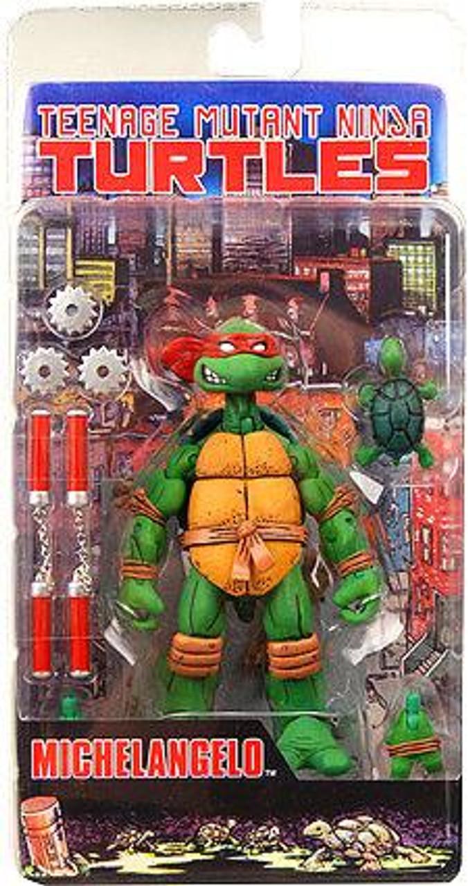 NECA Teenage Mutant Ninja Turtles Mirage Comic Michelangelo Action Figure