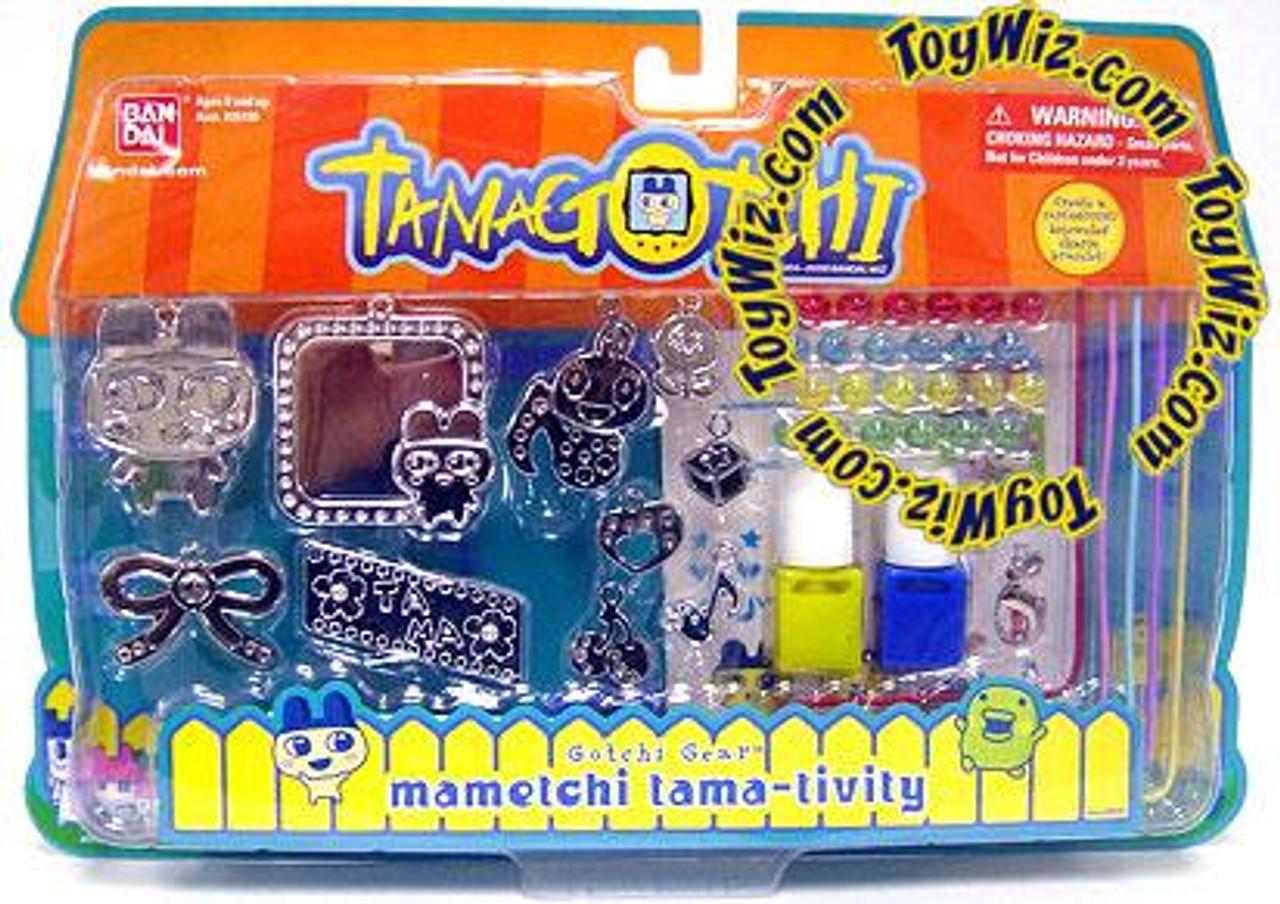 Tamagotchi Gotchi Gear Charm Bracelet Mametchi Tama-Tivity Activity Set [Yellow & Blue Paint]