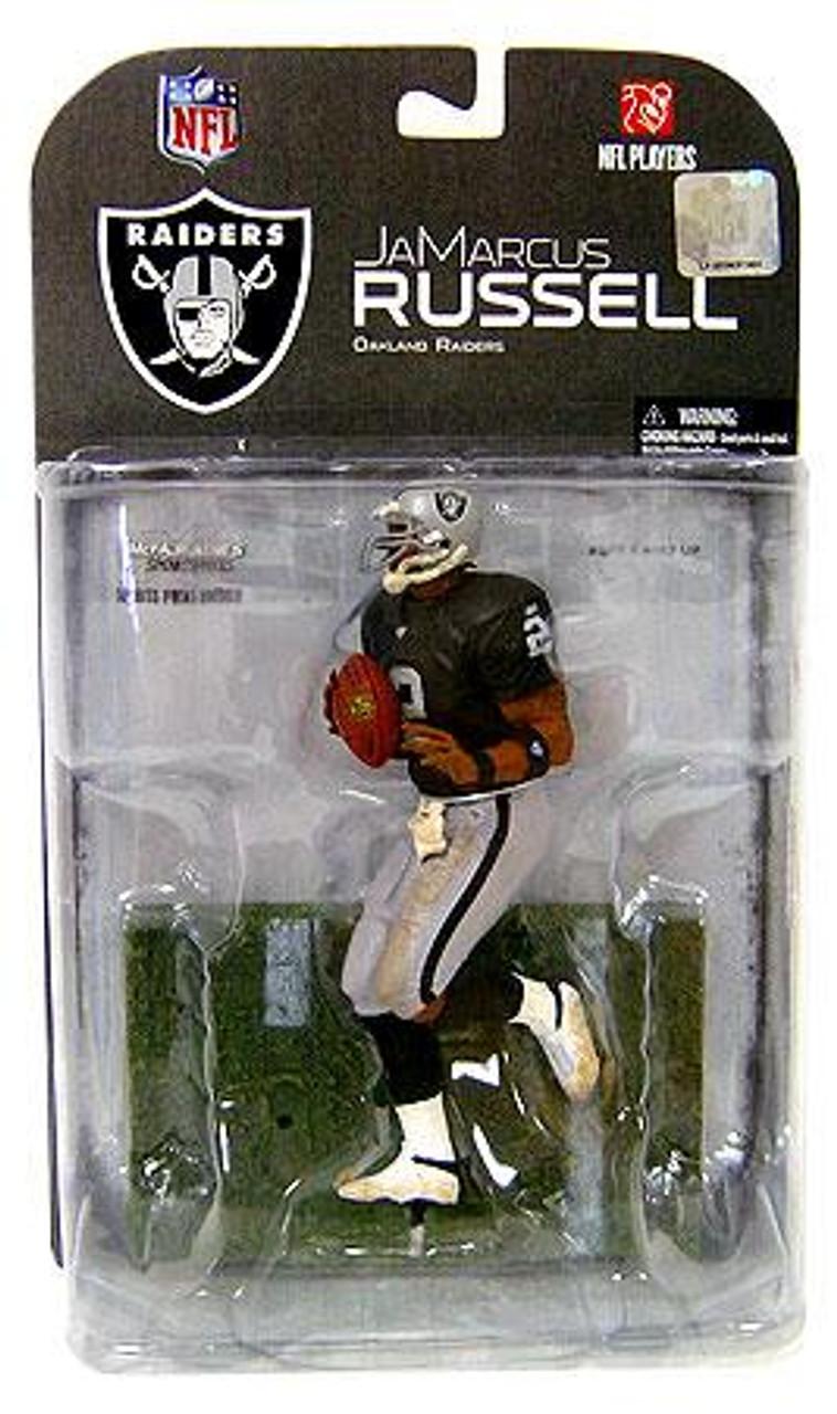 McFarlane Toys NFL Oakland Raiders Sports Picks Series 17 JaMarcus Russell Action Figure [Dirty Uniform]