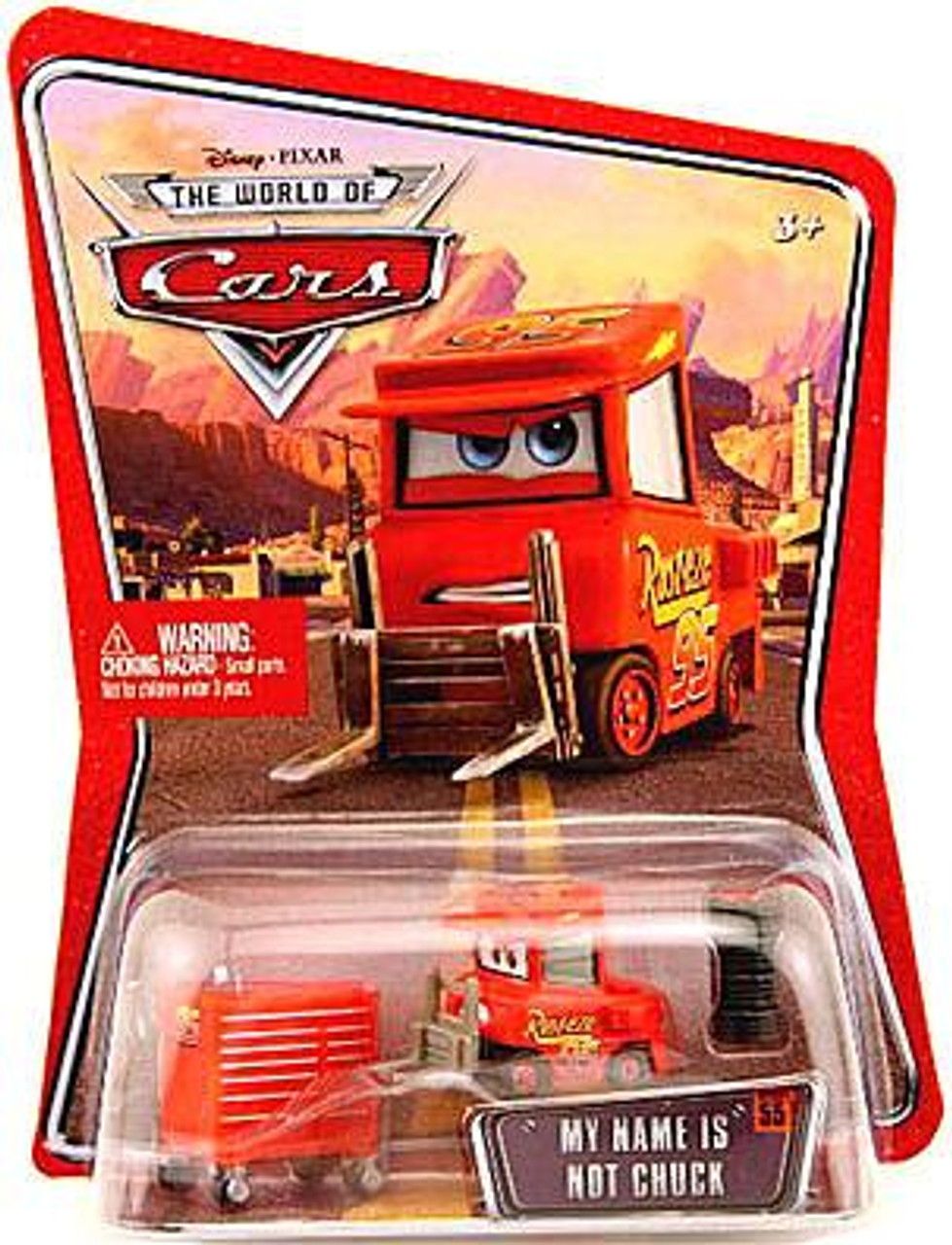 Disney Cars The World of Cars My Name is Not Chuck Diecast Car